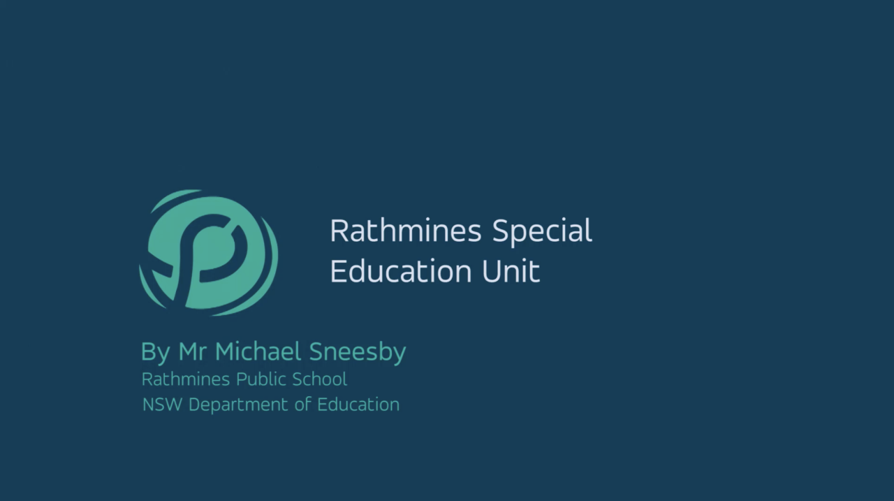 A video giving you an exclusive look inside the Special Education Unit at Rathmines Public School.